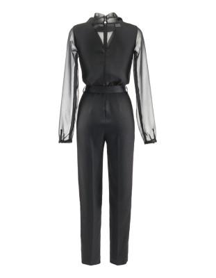 Chiffon jumpsuit