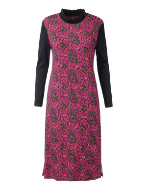 A-shape jacquard dress