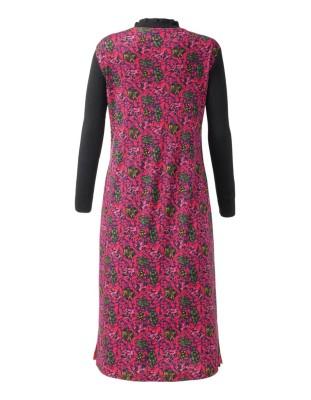 A-shape jacquard dress