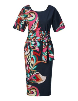 Multi-coloured dress