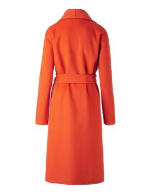Double-face fabric coat
