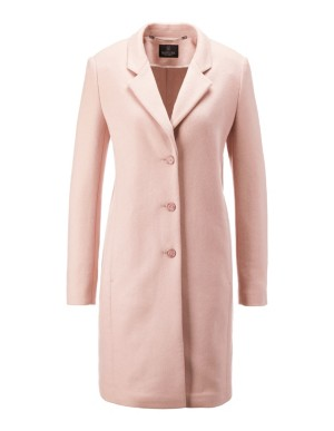 Short woollen coat