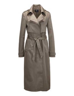 Double-lapel trenchcoat