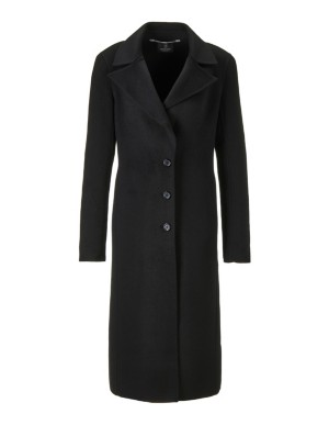 Classic wool and cashmere coat