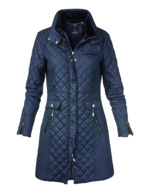 Quilted frock coat