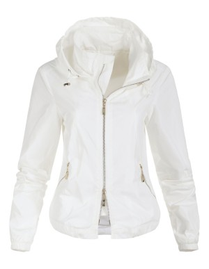 Sporty zip-up jacket