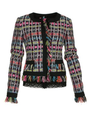 Fringed blazer