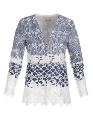 Laced blazer
