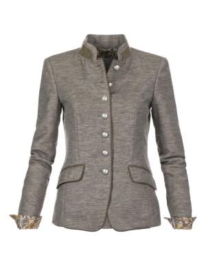 Military-style blazer