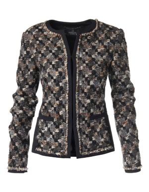 Novelty tweed blazer