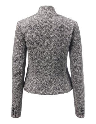 Jersey cotton blazer