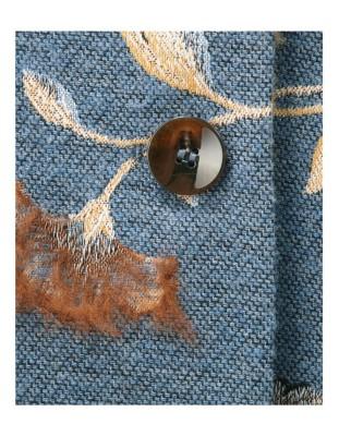 Floral frock coat