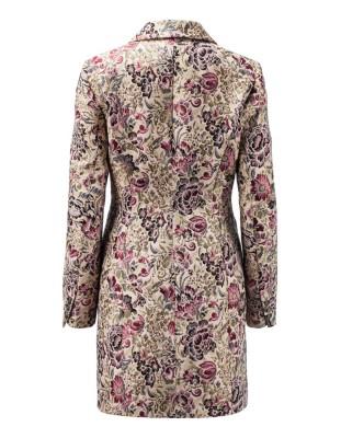 Jacquard frock coat