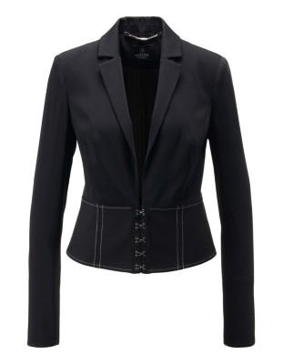 Corset-style blazer