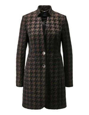 Dogtooth frock coat