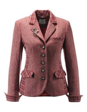 Folk costume-style blazer