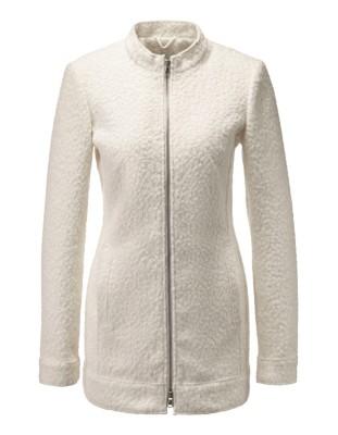 Loose-fit longline blazer