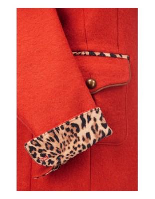 Milled wool frock coat