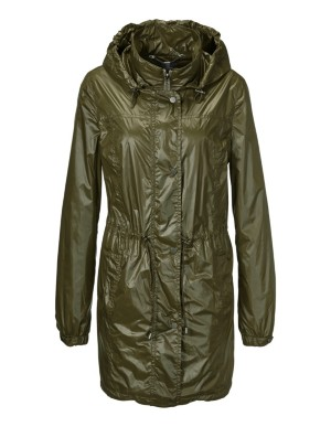 Light parka with detachable hood