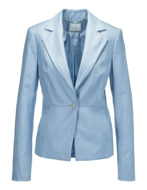 Italian new wool and silk blazer