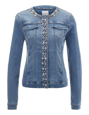 Decorative denim jacket