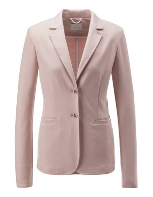 Decoratively stitched blazer