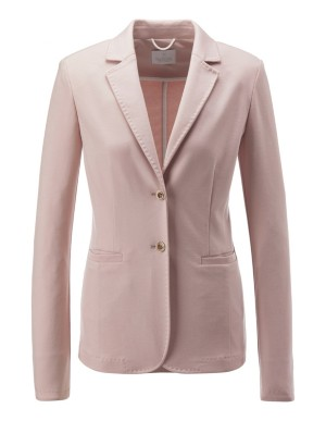 Decoratively stitched blazer