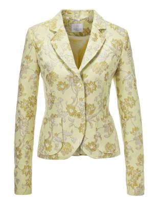 Italian jacquard blazer