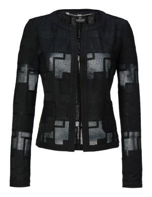 Cropped boxy blazer
