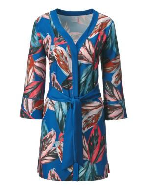 Long, kimono-style summer jacket