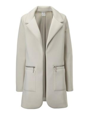 Open-front frock coat