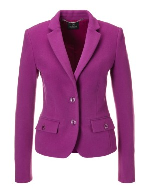 Wool velour blazer