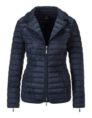 Blazer-style quilted jacket
