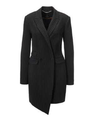 Pinstripe frock coat
