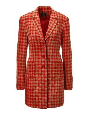 Chenille frock coat