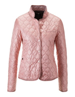 Lightweight quilted blazer