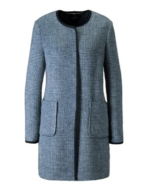 Double-faced frock coat