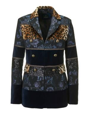 Patchwork blazer