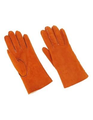 Soft suede gloves