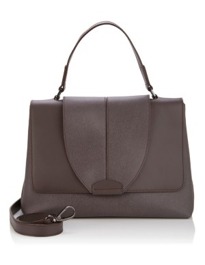 Large soft leather handbag