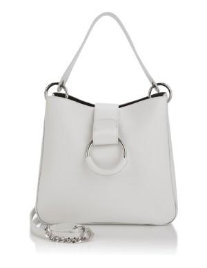 Large shoulder bag with removable inner zip bag