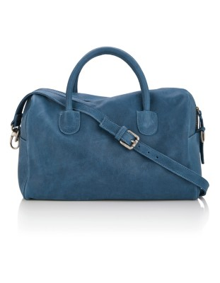 Large, soft leather bag