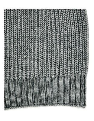 Coarse knit scarf