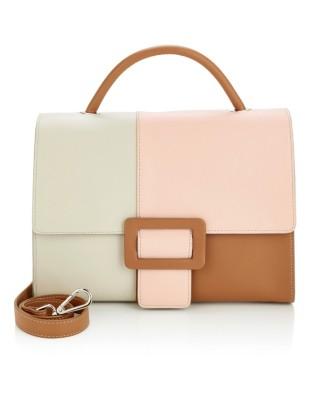 Handmade Italian leather handbag