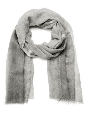 Cashmere MADELEINE logo scarf