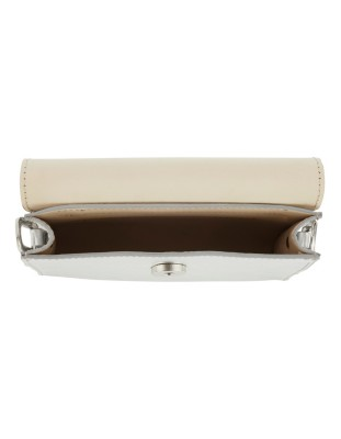 Leather belt bag, two-part