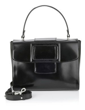 Italian patent leather bag
