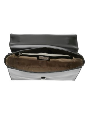 Italian patent leather bag