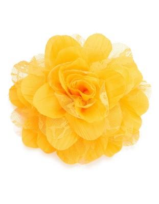Decorative fabric flower