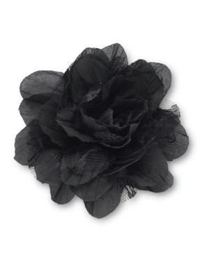 Decorative fabric flower